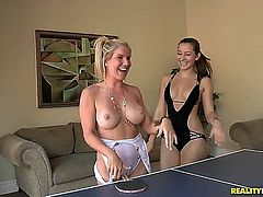 Celeste Star and her friends are fooling around!