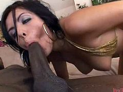 This stunning brunette MILF has just been made single and she's going a little crazy trying everything and anything.