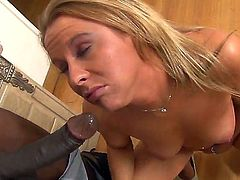 All natural neighborhood blonde girl Aria Austin gets huge black dick by Wesley Pipes