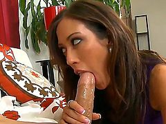 Bruce Venture dictates the rules of oral sex to Capri Cavanni