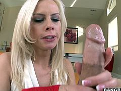 She has a gorgeous face and a beautiful ass that needs fucking. After Tara wrapped those pink sensual lips around my penis and gave me one hell of a blowjob she went on top and inserted my penis in her tight ass hole. Now Tara rides me like a whore and she enjoys every inch of hard cock ripping her ass
