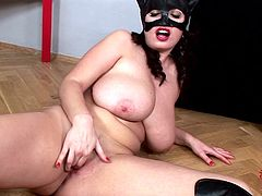 Milf is horny and eager to dominate one huge cock in amazingly hot hardcore scene