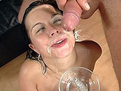 extreme gangbang with german chick 3