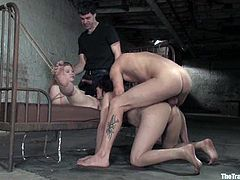 Two kinky babes are being abused so hard. This is the second day that they are being tortured wild! Well, they love some pain and if so, why not?