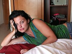 Imagine what it is to wake up with Aletta Ocean in the morning in Mallorca, Spain! This brunette honey is so fucking sexy and horny!