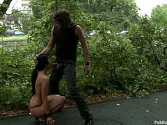 Tina Martinez gets unforgettably fucked in a park and enjoys it