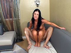 India Summer blows and gets her swollen pussy drilled hard