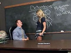 Erotic Erotic learner playthings  around her lecturer