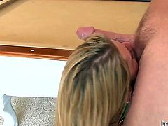 Horny Charisma Cappelli just needs to spread her legs wide in order to take his hard penis up her tight beaver. Her cock sucking skills are more than great.