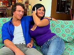 Lachasse is a big tit mom ready to cum
