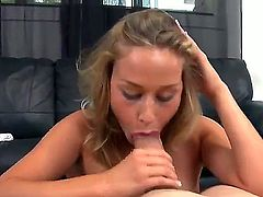 Jmac chooses curvaceous chick Kennedy Leigh for a reason. She knows how to work in front of camera and she is one of the most reckless babes in the world that love to suck!