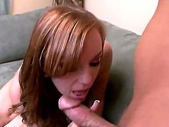 Dani Jensen is a redheaded slut and she loves hard penetrations. Her boyfriend really wants to make her satisfied, so he tries to do his best. You need to see this hot couple in action