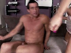 Kendall Karson and her lesbian friend, Danica Dillon, are fond of hot masturbation, but sometimes they need to swallow a delicious dagger, so thats why they handsome friend is here
