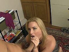 Flower Tucci is a true teacher of sex and she prefers to work with students, who have big yummy daggers. Chris Johnson is on of them and he wants to see what she can do. Enjoy