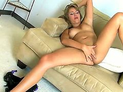 We invited Ella Milano here for some reason. And the reason is simple - she is too hot for us to leave her without our attention. Please, greet this sexy girls masturbation.
