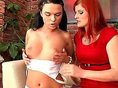 If you want to see two awesome lesbian chicks, then please welcome Rossa JHonson and her best friend, Frida. They are ready to masturbate on camera and scream loud. Have fun