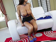 All you know who Lisa Ann is and what she loves to do. Today she will do amazing anal scene with magnificent cunt-stretching lecher Lexington Steele. Be ready for some steaming action.