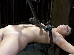 If you're into BDSM then you're gonna love this one as we have two girls totally dominated in this video where they are tortured a little bit.