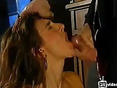 Hot vintage cumshot compilation