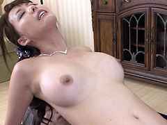 Dirty and lustful hoe Akari is a big fan of anal sex action so she never loses the chance to film in hardcore ass fuck scenes.