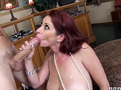 Slutty milf loves it in her ass