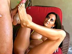 Ava Addams adores her job as she is really happy when she gets fucked hardcore by horny guys. This is a backstage of her enjoyable job where she reveals her beauty
