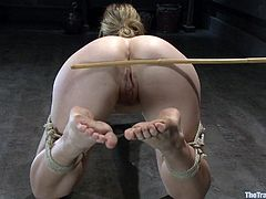 Be prepared to be amazed at how intense this bondage sex video is. You will be shocked, as you most likely have never seen anything quite like this before in your life.