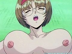 Watch this busty hentai slut being fucked in a ritual which involves demons and monsters that make her cum.