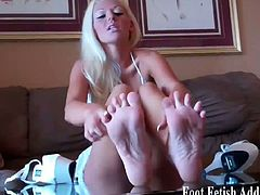 See these amazing dommes as they flaunt their hot asses and sexy feet while making you worship them.