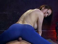 Milfs like Seruka Ichino always get what they want. So this super sexy babe wanted a huge cock and so she gets it with a few efforts.