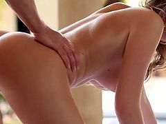 Super hot massage by hands of sexy babe.You will love her giving nice body sliding massage,handjob and blowjob.This hot ass babe knows all the talent to handle big cock.