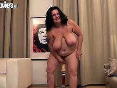 If you like chubby matures then Renate Zug has the tummy and the big natural fallen tits you want to see.