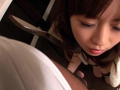 Magnetic Asian hottie Nozomi Hatsuki gets fucked by her lover