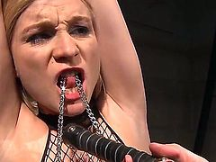 Hello people! This is a crazy and hot BDSM action with a gorgeous lesbian girls named Katy Parker and Steffie! You will like it guys! So just watch and enjoy!!!