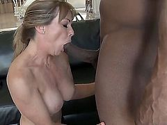 Successful business lady Shayla Laveaux wants to devote a weekend for a real sex, so she called big black man with a powerful dick that really can satisfy her hungry pussy!