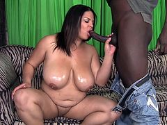 black cock for chubby lady