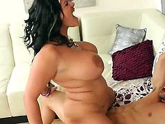 Big boobed girl fucking with Johnny Castle
