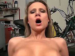 Awesome anal fuck with David Perry and Samantha Joly