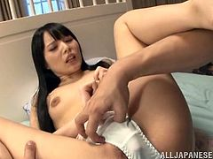 Admirable Japanese chick Mihono Sakaguc and her man kiss and pet each other and get horny. Then they have sex in cowgirl and other positions and Mihono moans like a bitch all the time.