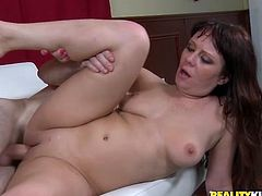 Reality Kings sex clip presents a voluptuous brunette hottie. Amazing chicks loves cunnilingus. But the best delight for this booty whore is surely a nonstop and tough drilling of her wet cunt from behind.