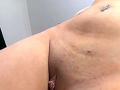 Ashlynn Leigh is horny as hell and fucks with wild passion in sex action with hot man