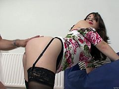 Jim Slip prefers sex fun with sweet looking young girl. For this ones he drills hard one brunette in doggy style. Enjoy steamy fuck for free. Jim Slips and his hell working bitches are everything your heat desires.