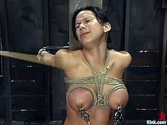 It's a session of hot hardcore sex and rough domination combined for Nadia Styles in this BDSM porn video.