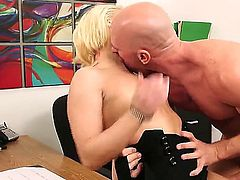 Ash Hollywood gets her pussy fucked by Johnny Sins for your viewing entertainment