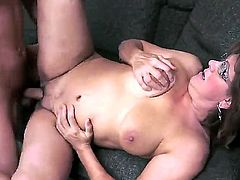 Her pussy is more than hairy and that is what her lover enjoys the most. Gigi M is her name and she is one of the top rated grannies on our site for sure.