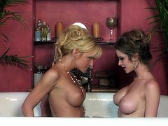 They are horny and eager to play with their tight and wet little vags