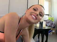 Jessie Rogers with round booty and hot blooded guy have oral sex on camera for you to watch and enjoy