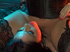 Dirty lesbians are horny and eager to lick their tight vag in softcore