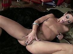 Alyssa Reece needs nothing but a vibrator in her love tunnel to be happy