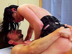 Veruca James and Erik Everhard do it on cam for you to watch and enjoy